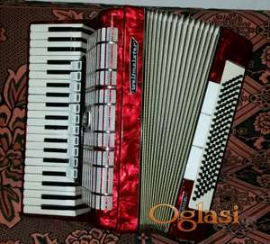 Harmonika Weltmeister Diana 120 basova