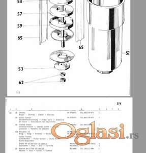 Zetor 8011-8045-12011-12045 katalog delova