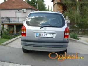Beograd Opel Zafira 1.8 16v 2001
