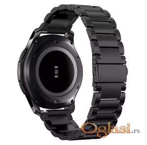 Metalne narukvice za samsung gear S3, galaxy watch, Huawei watch gt.
