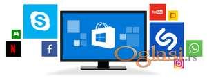 Reinstaliranje sistema / Čišćenje računara / Instalacija programa, aplikacija i antivirusa