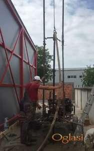Kopanje bunara za geotermalne sisteme i kopanje zemljišta za bazene