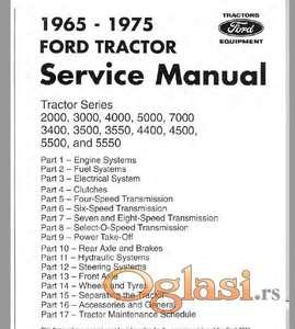 Fordt traktori - radionički priručnik