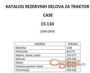 Case CS110 - katalog delova
