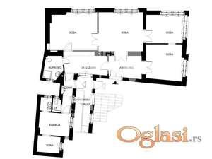 Studentski trg, Simina, 120m2, 4.5, podrum od 30m2 ID#1212