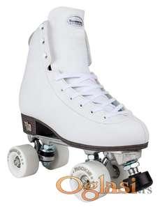 Rookie Rollerskates Artistic White