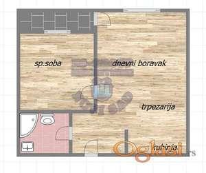 Dvosoban stan u izgradnji, odlična oprema! Mogućnost povrata PDV-a!