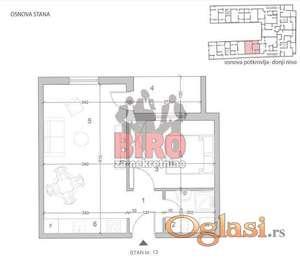 Nov,lep jednoiposoban stan u Petrovaradinu na top lokaciji,nekoliko minuta od centra grada
