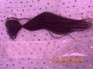 Potpuno prirodna kosa za keratinsku nadogradnju - Nekoriscena