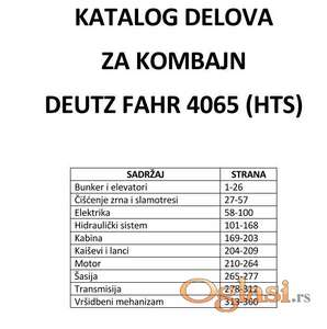 Deutz Fahr 4065 H/HTS Katalog delova