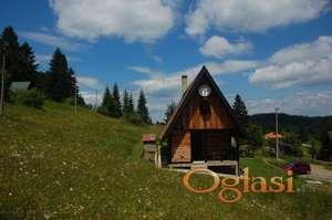 Borova brvnara - planina Tara - uživanje u jedinstvu sa prirodom!