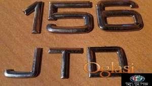 Znak na limariji za Alfu 156-2.4JTD