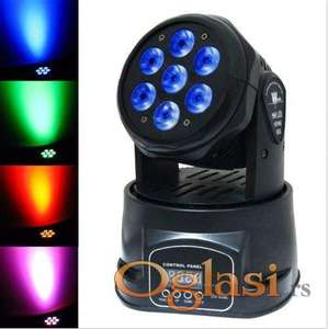 Led Roto Glava 7x10w mini led moving head