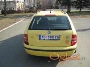 Novi Sad Škoda Fabia 1.4 mpi