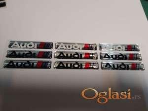 Audi stikeri nalepnice 3D