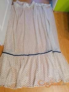 Prodajem zavese sa ušivenom trakom