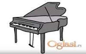 Časovi klavira i sintisajzera, klasična i zabavna muzika