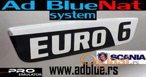 AdBlue Emulator Euro 6 SCANIA