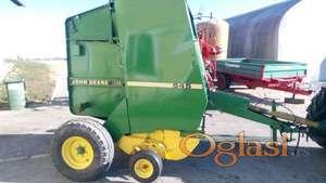 Balirka John Deere Preša Traktor Kombajn Vino