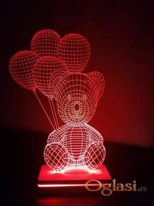 LED lampa - 3D lampe