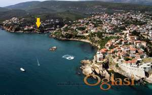 Adriatic sea waterfront Ulcinj (Ulqin) Liman II Montenegro 62m2 house & 400m2 plot for sale