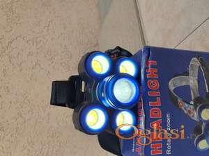 Lampa za glavu 5 dioda