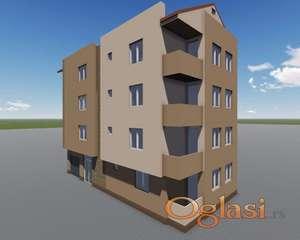 Prodajem nove stanove u Panteleju u novom delu Somborskog Bulevara