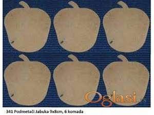 Ukrasna daska kruška i jabuka180x310x10 mm