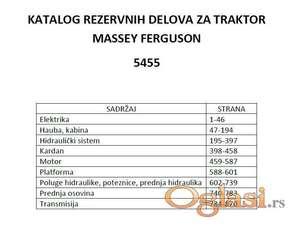 Massey Ferguson 5455 - katalog delova
