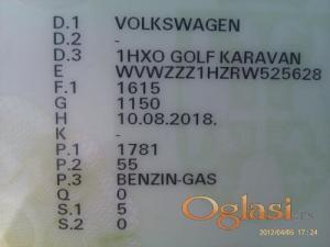 Zrenjanin Volkswagen - VW Golf Karavan 1994