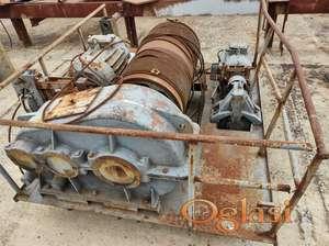 Kran mosna dizalica sa reduktorom i kočnicom 5 tona