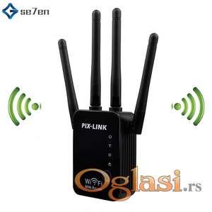 WiFi pojačivač signala Wiraeless Repetitor 4 antene