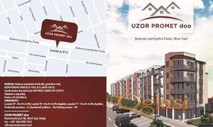 Direktna prodaja stanova Novi Sad, bulevar Patrijarha Pavla