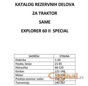 Same Explorer 60 II Special - Katalog delova