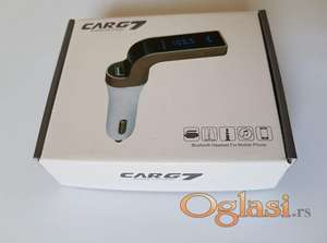 CARG 7 bluetooth handsfree+punjac+fm transmiter