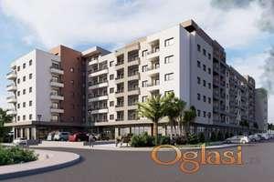 Novi 1-soban stan u Budvi, kod autobusne stanic. Hitna prodaja - 1.500 eura/ m2