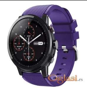 Ljubičasta narukvica 22mm za Galaxy Watch 46 Huawei GT2