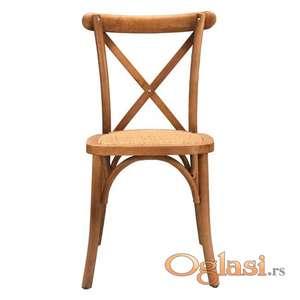 Prodaja drvenih stolica za kafiće i restorane