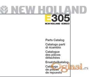 New Holland E305 bager - Katalog delova