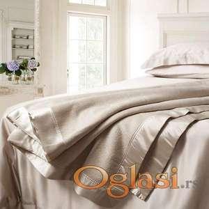 NOVO Lux prekrivač od kašmira i merino vune