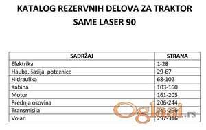 Same Laser 90 - Katalog delova