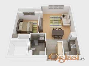 Odličan stan u izgradnji sa odličnim uslovima