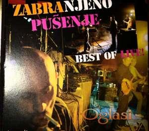 CD ZABRANJENO PUŠENJE - BEST OF LIVE