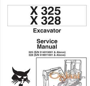 Bobcat X325 - X328 Radionički priručnik