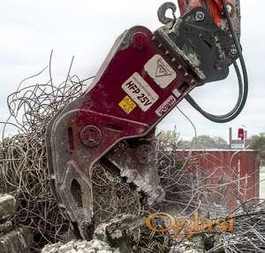 Široki usitnjivač HFP-serija | 740 do 6980 kg | Hydraram