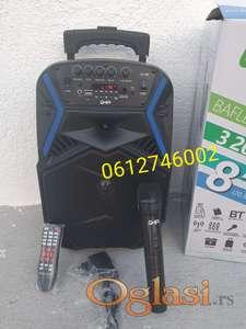 Karaoke Bluetooth Zvucnik + Bezicni mikrofon GHIA