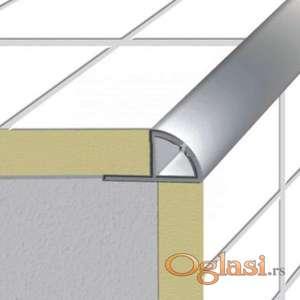 Aluminijumske lajsne za ivice stepeništa od keramičkih pločica