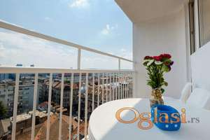 Moderan Penthouse 1 stan na dan ili duži period u centru Beograda