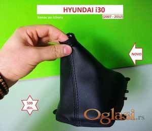 HYUNDAI i30 kožica menjača (2007-2012) NOVO konac po izboru