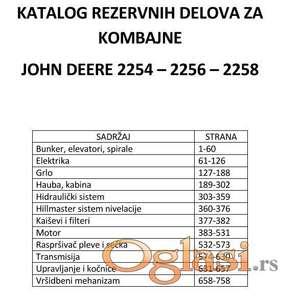John Deere 2254-2256-2258 katalog delova